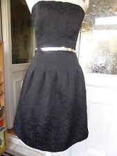 H&M BROCADE EVENING DRESS SIZE 10