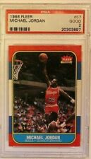 1986 Fleer #57 Michael Jordan PSA 2