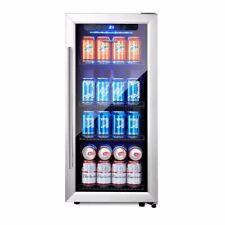 Phiestina Ph-Cbr100 106 Can Beverage Cooler Stainless Steel Door Handle�����