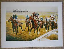 Entrepreneur 2000 Guineas Winner Newmarket Fine Art Print Horse Racing