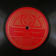 78 rpm MADAME VIOLETTA habanera - carmen &  gipsy song GO 9