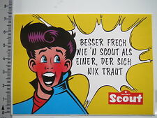 Aufkleber Sticker Scout - Taschen - Tornister - Koffer 1 (6632)