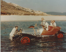 CHITTY CHITTY BANG BANG Vintage Color Photo Classic Car in water DICK VAN DYKE