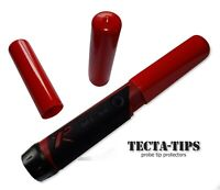 2 Full Length TECTA-TIPS for XP Mi4 and Mi6 pin-pointer probes in RED or BLACK