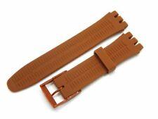 Correa de reloj de pulsera para pulsera de repuesto Swatch Rubber Silicone...