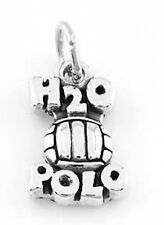 STERLING SILVER WATER POLO (H2O) CHARM OR PENDANT