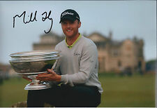 Michael HOEY SIGNED Autograph 12x8 Photo AFTAL COA Alfred Dunhill Links Winner