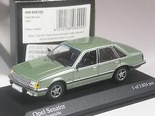 sehr schön: Minichamps Opel Senator grünmetallic 1980 in OVP