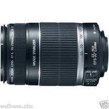 Brand new Canon EF-S 55-250mm f/4.0-5.6 IS II Telephoto Zoom Lens retail package