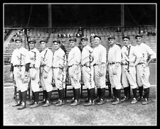 1927 Yankees Pitching Staff Autographed Repro Photo 8X10 Hoyt Pennock Shawkey