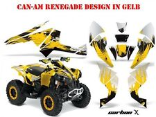 AMR Racing DECORO KIT ATV CAN-AM Renegade, d250, ds450, ds650 GRAPHIC KIT CARBON-x B