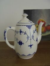 FURNIVAL'S  'BLUE DENMARK' - A BEAUTIFUL COFFEE POT - EXCELLENT CONDITION