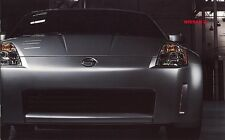 2003 Nissan 350Z Enthusiast Performance Touring Track Dealer Sales Brochure