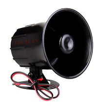 1 tone Panic Siren Horn Alarm Security For All Car Truck Van Alarm Systmes Sr1