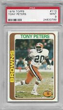 1978 TOPPS FOOTBALL #113 TONY PETERS PSA 9 MINT