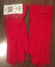 Women's Manhattan Accessories Company Tech Gloves RED NEW