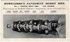 MORECAMBE'S FAVOURITE MERRY MEN: Lancashire postcard (JH2634)