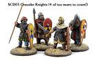 Gripping Beast - SAGA - Crusader Knights on foot (hearthguards) - 28mm