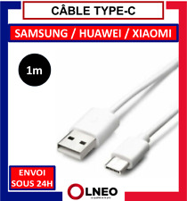 CABLE TYPE C CHARGE RAPIDE USB DATA CHARGEUR POUR SAMSUNG / HUAWEI / LG / XIAOMI