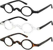 Reading Glasses Set of 3 Professional Readers Stylish for Men and Women +2.25