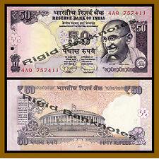 India 50 Rupees, 2012 P-104a New Rupee Symbol Unc