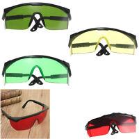 Eye Safety Hard Glasses for Red Blue Green Laser UV Light Protection Goggles