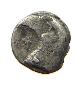 GREECE ANCIENT OBOL #t125 457