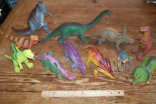 Lot of 36 Plastic Dinosaurs Large and Small