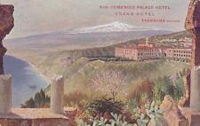 C453) TAORMINA (MESSINA), SAN DOMENICO PALACE HOTEL. VIAGGIATA.