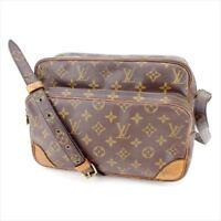 Louis Vuitton Shoulder bag Monogram Brown Woman Authentic Used Y3602