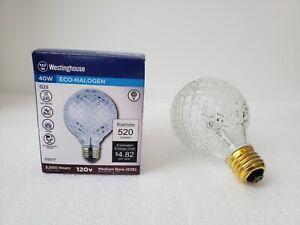 Brand New In Box Vintage Cut Glass Halogen Light Bulb 40W