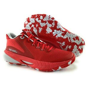 Under Armour Women's HOVR Breakthru Red Gray Basketball Shoes Sizes 7.5 - 11