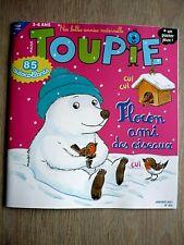 REVUE  TOUPIE  N° 424  JANVIER  2021  /  FLOCON , AMI  DES  OISEAUX