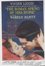 THE ROMAN SPRING OF MRS. STONE  Vivien Leigh Warren Beatty Lotte Lenya NEW DVD