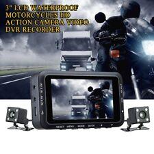 "3"" LCD Waterproof Motorcycles HD Action Camera Video DVR Recorder G-sensor DV168"