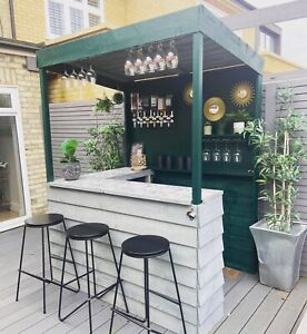 Garden Bar - BarBaydos - Treated wood - Look at our reviews! ^New Lower Price!^