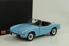 1970 Triumph Spitfire MK IV wedgewood blue blau 1:18 Sunstar