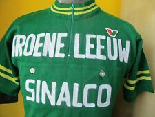 GROENE LEEUW SINALCO VITTORE GIANNI Cycling Jersey VINTAGE Size XL