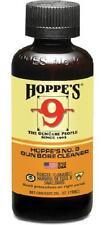 Hoppes 9 Gun Bore Cleaner Solvent Guncare Hunting Rifle Pistol 2 Oz Bottle NEW