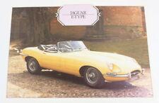 Jaguar E-Type DAIMLER Heritage Trust Oldtimer original prospectus 5.1 448 dl7