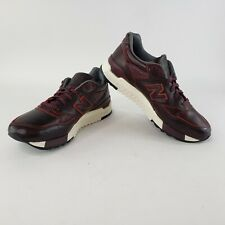 New Balance 998 Horween Leather M998WD Sz 11 Burgundy Made in USA Limited Rare