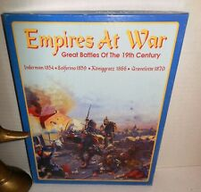 Boxed Decision WAR GAME Empires at War Great Battles of the 19th C 1854-1870 op