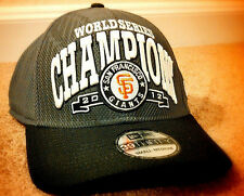 NEW ERA San Francisco SF GIANTS 2012 World Series Cap Hat S/M 39THIRTY BRAND NEW
