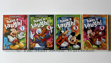 Disney Classic Mickey Donald Goofy Cartoons Have a Laugh Series Volume 1 2 3 & 4