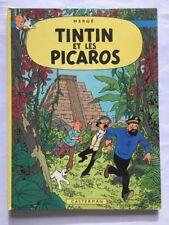TINTIN ET LES PICAROS / BD EO C1 1976 / HERGE / CASTERMAN / 24 traductions