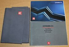 CITROEN C4 PROPRIETARIO MANUALE MANUALE Wallet 2004-2008 Pack 5512