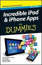 Incredible Ipad and Iphone Apps for Dummies by Joe Hutsko, Bob LeVitus, Barbara