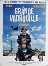 LA GRANDE VADROUILLE - DE FUNES / BOURVIL - AFFICHE RESORTIE PETIT FORMAT