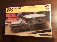 1982 Testors/Italeri Dodge WC 62 Cargo Truck 1 1/2 Ton 6x6
