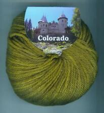 50g COLORADO BC GARN 100% Schurwolle superwash Merino Strickwolle Wolle Fb. 04